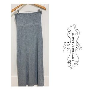 Anthropologie Splendid gray strapless tube Dress S